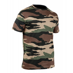 Tee-shirt militaire camouflage CE | Unisexe | 100% coton