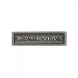 Agrafe Gendarmerie Nationale | Pour Médaille Ordonnance