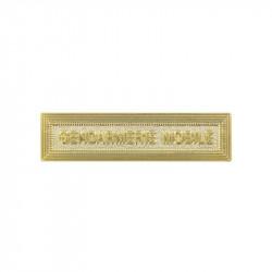 Agrafe Gendarmerie Départementale | Pour Médaille Ordonnance