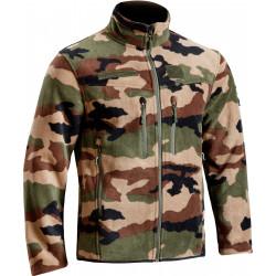 Blouson polaire camouflage CE