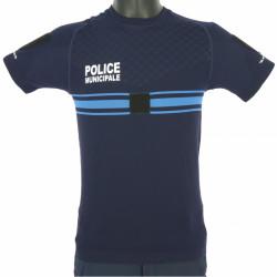 Tee-shirt air flow Police Municipale