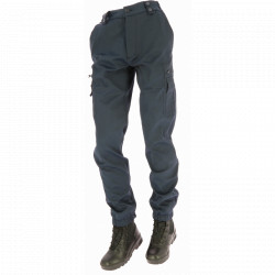 Pantalon d'intervention ASVP | Liseré Bordeaux Hiver