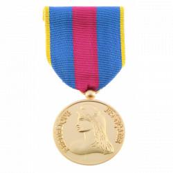 Médaille Ordonnance Réservistes Volontaires Défense et Sécurité intérieure Or