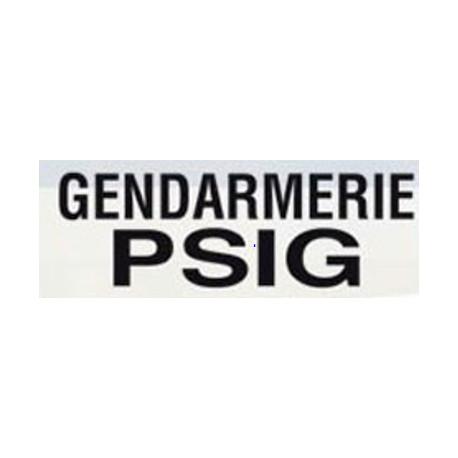 Dossard gris | Gendarmerie PSIG