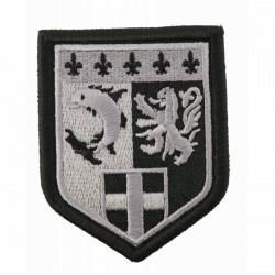 Ecusson Gendarmerie Rhône Alpes basse visibilité
