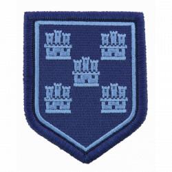Ecusson Gendarmerie Poitou Charente basse visibilité