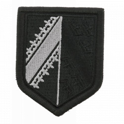 Ecusson Gendarmerie Alsace basse visibilité