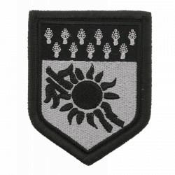 Ecusson Gendarmerie Martinique basse visibilité