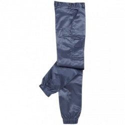 Pantalon intervention marine satiné ASVP