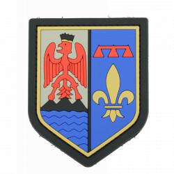 Ecusson de bras PVC Gendarmerie région Provence-Alpes-Côte d'Azur