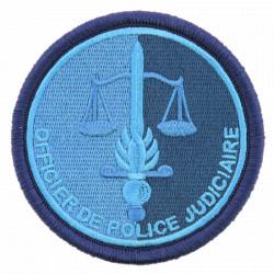 Ecusson de bras rond Officier de Police Judiciaire | Gendarmerie