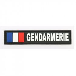 Bandes d'identification PVC Gendarmerie France