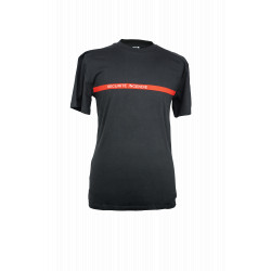Tee-shirt sécurité incendie noir