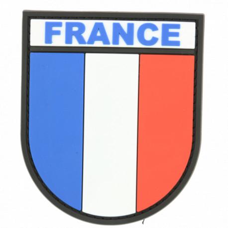 Ecusson drapeau Français en PVC
