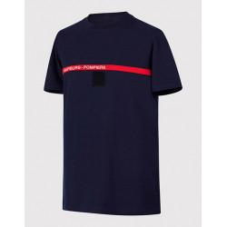 Tee-shirt Sapeurs Pompiers en Coton
