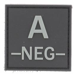 Identifiant groupe sanguin A- | Noir