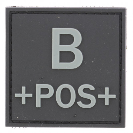 Identifiant groupe sanguin B+   Noir
