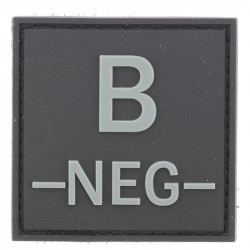 Identifiant groupe sanguin B- | Noir