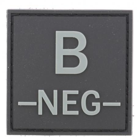 Identifiant groupe sanguin B-   Noir