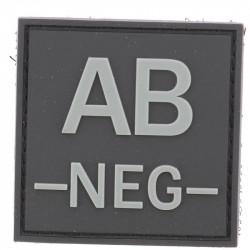 Identifiant groupe sanguin AB- | Noir