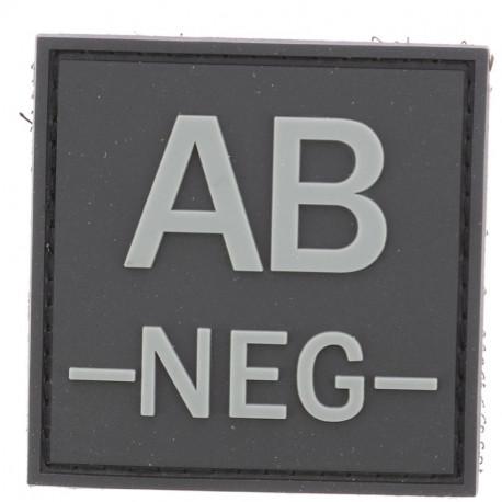 Identifiant groupe sanguin AB-   Noir