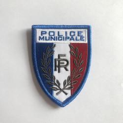 Ecusson Police Municipale bord marine