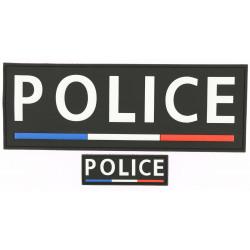 Bandeaux Police Nationale PVC noir