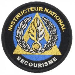 Ecusson de bras Instructeur National Secourisme Gendarmerie