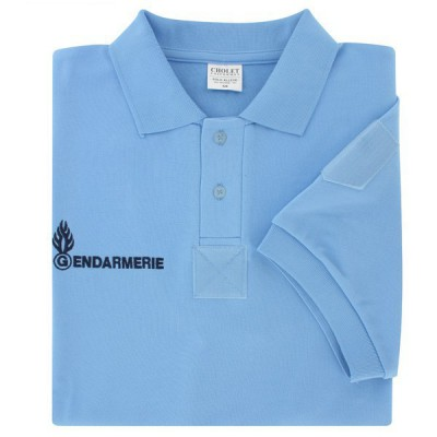 """Polo Gendarmerie Homme manches courtes """"allégé"""""""
