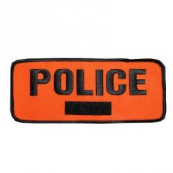 Brassard Police avec velcro matricule