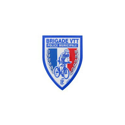 Ecusson | Brigade VTT | Police Municipale