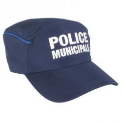 Casquette Police Municipale avec liseré gitane