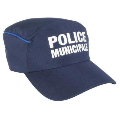 Casquette   Police Municipale   Liseré bleu