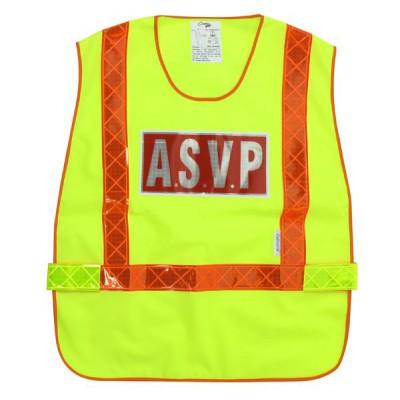 Chasuble jaune ASVP | Haute Visibilité