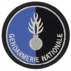 Ecusson de bras Gendarmerie Nationale