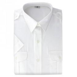 Chemisier blanc Gendarmerie | manches courtes