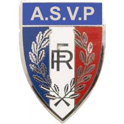 Insigne de casquette   ASVP