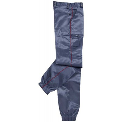 Pantalon d'intervention ASVP mat avec liseré bordeaux