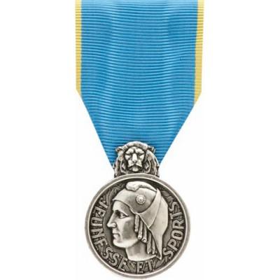 Médaille Jeunesse et Sport Argent