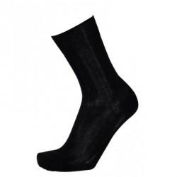 Chaussettes en fil d'écosse | Noir