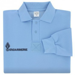 Polo Gendarmerie Homme manches longues