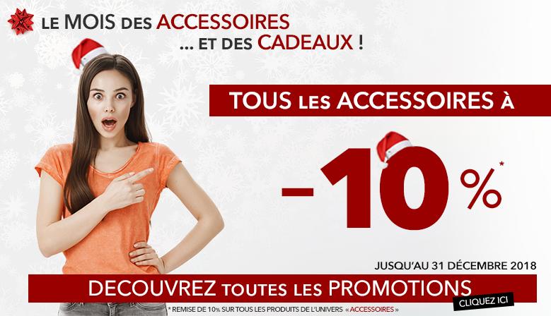 C'est Noel : tous les accessoires sont à -10% chez Habimat !