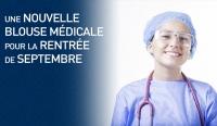 UNE NOUVELLE BLOUSE MÉDICALE POUR LA RENTRÉE DE SEPTEMBRE